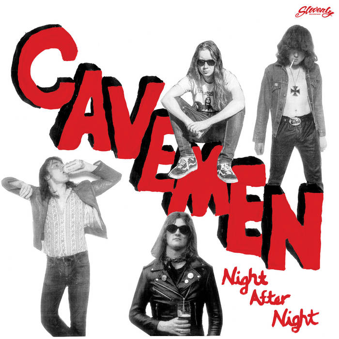 "THE CAVEMEN - ""Night After Night"" LP"